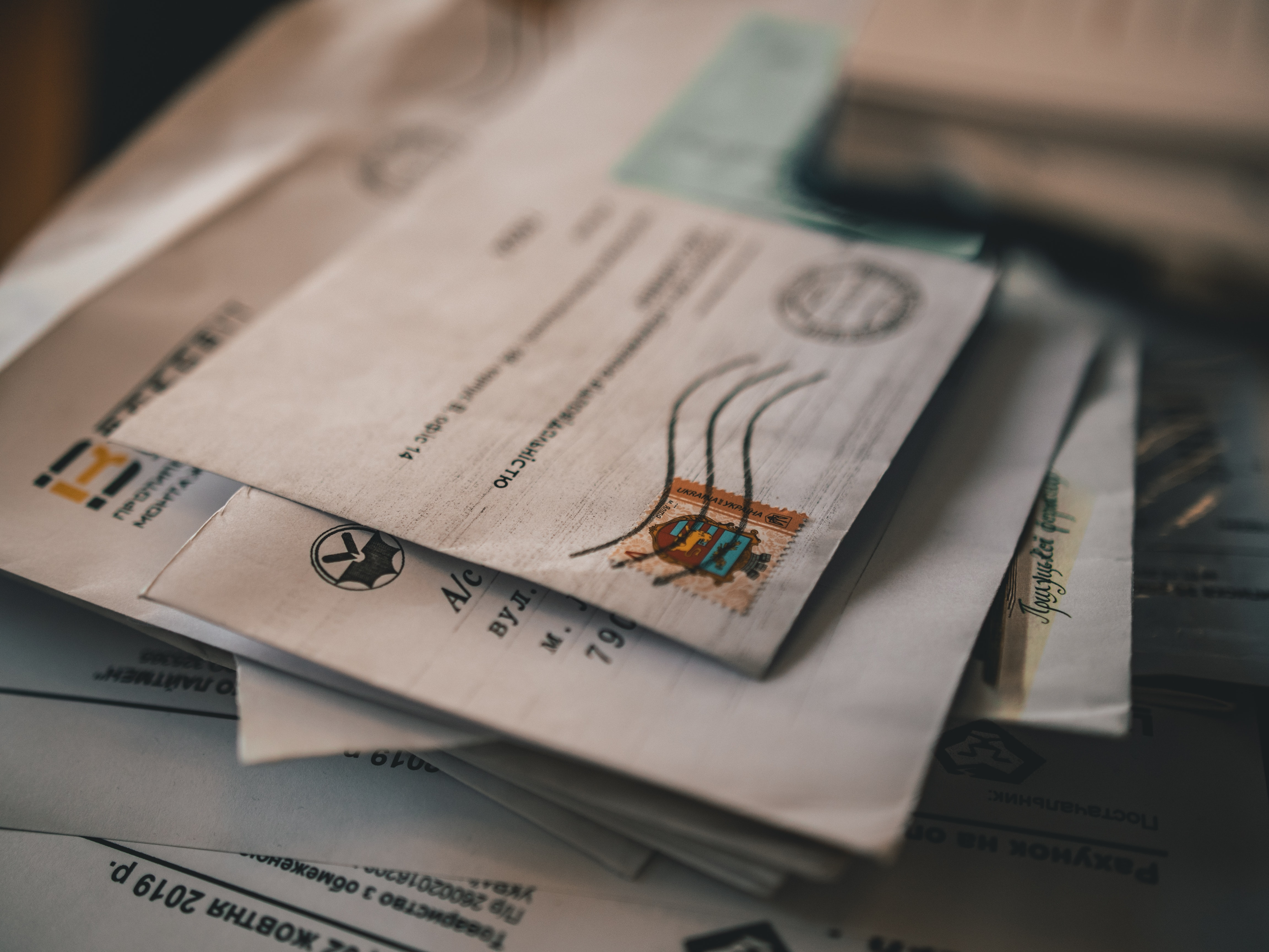 gestão de correspondência